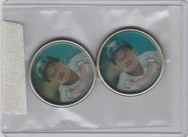 1987 Topps Coins Yankees Rickey Henderson Lot of 2 - $1.71
