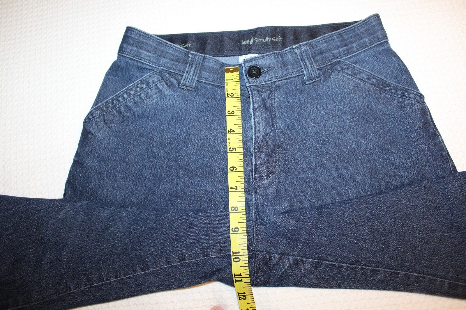 6b91d0d6 LEE Sinfully Soft Women's Size 10 Short Boot Cut Stretch Jeans 29