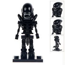 Alien Skeleton Movie Minifigures Toy Custom Minifig Building Block Super... - $4.99