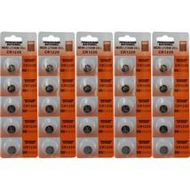 (25) 3v Battery CR1220 CR-1220 Lithium Batteries DL1220 - $8.56