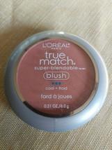 L'Oreal Paris True Match Super-Blendable Face Blush, Rosy Outlook, 0.21 oz - $10.39