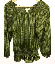 Michael Kors Womens long Sleeve Blouse Size S - $27.65
