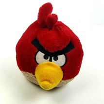 "Angry Birds Red Plush 5"" 2011 Commonwealth Stuffed Animal Promotional  - $11.87"