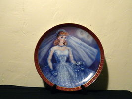 1959-High Fashion-Barbie Bride To Be-Danbury Mint Collectors Plate Susie Morton  image 3