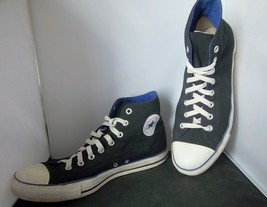 CONVERSE - Adult All Star Chuck Taylor Black Canvas High Top Shoes - M-12 W-14 - $28.95