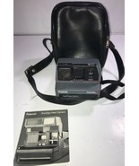 Polaroid One Step Land Camera SX-70 Rainbow Stripe White Sold As Not wor... - $46.74