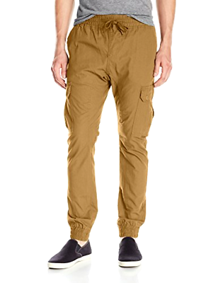 Primary image for Southpole Men's Jogger Pants Washed Ripstop Fabric W/ Cargo Pockets Choose Color
