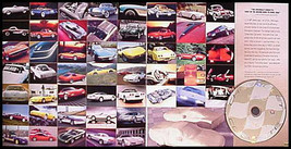 2003 Corvette Original 50th Anniv Prestige Brochure w/ CD - $27.61