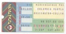 Cool ROSSINGTON COLLINS 8/16/80 Columbia MD Ticket Stub! Lynyrd Skynyrd - $8.90