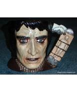 """Frankenstein's Monster"" Character Toby Jug D7052 Royal Doulton Hallowee... - $367.63"