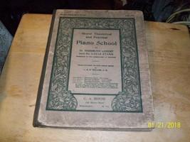 12a#  Vtg Grand Theoretical & Practical Piano-School Book C.A. House Whe... - $9.81
