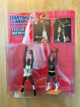 Starting Lineup 1997 Bill Russell Wilt Chamberlin Celtics NBA Classic Do... - $13.49