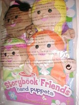 "Melissa & Doug Storybook Friends 8"" Hand Puppets Pack of 4 Item No. 9083... - $34.64"