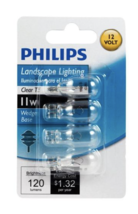 Philips Clear Wedge Base T5 Incandescent Landscaping Light Bulb, 11W (4-Pack) - $9.95