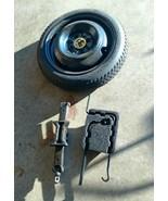 2002 TOYOTA COROLLA  SPARE TIRE WHEEL DONUT T115-70D14 Bridgestone - $58.05