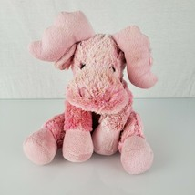 Wishpets plush Jimmies Pink speckled plush moose 2005 beanbag stuffed an... - $39.59