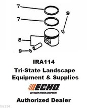 10000032431 Genuine ECHO Piston Kit for CS-6700 CSG-6700 CSG-670 - $59.99