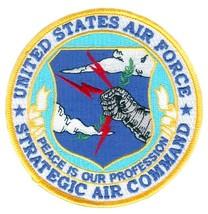 USAF Strategic Air Command Round Patch - $9.89