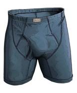 Duluth Trading Company Mens Free Range Cotton Boxer Briefs Smoky Blue L ... - $31.01