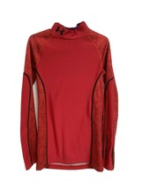 Under Armour cold gear youth kids pullover red long sleeve size YMD - $18.47