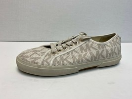 MISMATCHED SIZES - MICHAEL KORS White LOGO Women's Size 7/8 Shoes Sneakers - $29.69