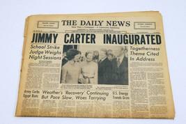 ORIGINAL Vintage Jan 20 1977 Jimmy Carter Inaugurated PA Daily News News... - $59.39