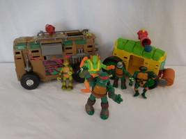 Teenage Mutant Ninja Turtles Shellraiser Assault Van + Shell Shellraiser... - $23.02