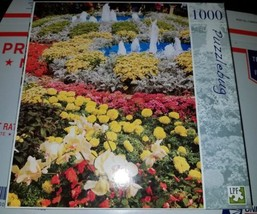 """Puzzlebug 1000 Piece Summer Garden Jigsaw Puzzle (18.25"""" × 23"""") New and ... - $19.75"""