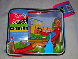 Barbie School Style Lunch Box School Supplies Mattel - Tags Attached - S... - $15.00