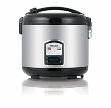 Oyama CFS-F12B 7 Cup Rice Cooker, Stainless Black - $68.49