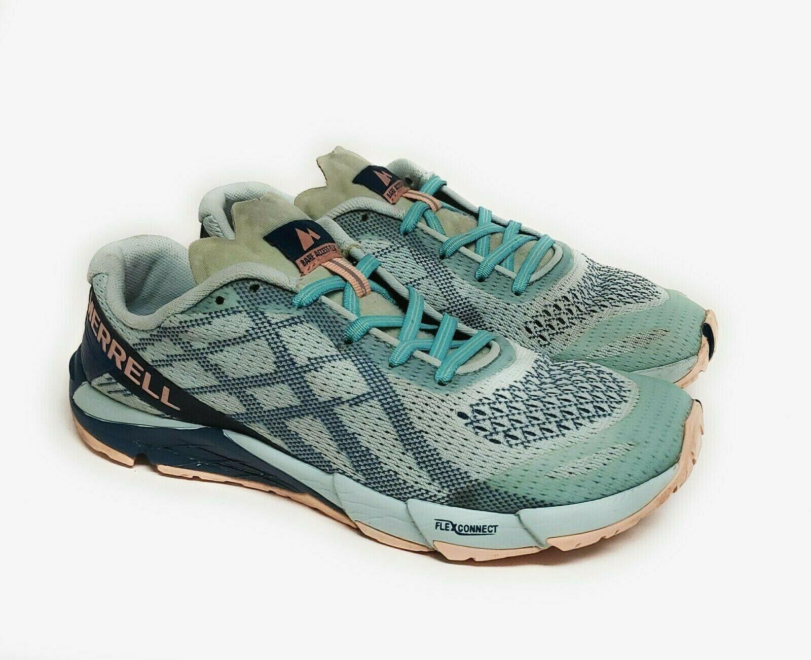 Merrell Bare Access Flex Womens Size 7.5 Trail Running Shoes J12614 - $37.95