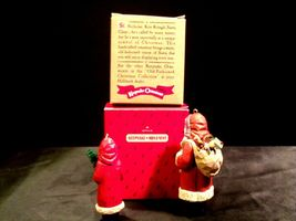 Hallmark Handcrafted Ornaments Old Fashioned Christmas Santa Ornament AA-191783 image 3