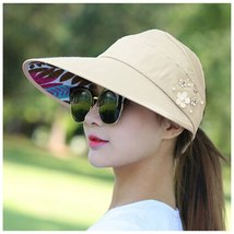 Summer Style Women Foldable Wide Large Brim Floppy Beach Gorro Hats Chapeu Outdo image 6
