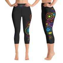 Circle of Life Capri Leggings for Women Butt Lift Yoga Pants for Women H... - $39.99+