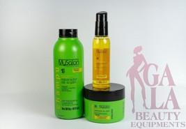 Salerm - MySalon Professional Argan Repairing Shampoo, Mask, and arganol... - $34.64
