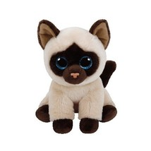 TY Beanie Babies Plush - Jaden the Siamese Cat 15cm - $19.99