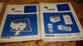 Bobcat 741 Factory operators & parts Manual guide book printed paper - $58.41