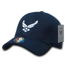 United States Air Force Usaf Navy Mesh Officially Licensed Baseball Cap Hat - $31.95