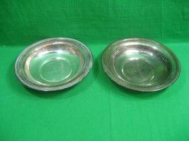 Vintage F. B. Rogers Silver Plate Serving or Candy Bowl Set of Two (2) 1903 - $21.46