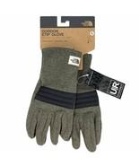 New The North Face Men's Gordon Etip Glove Green Black U\R Powered Touch... - $29.99
