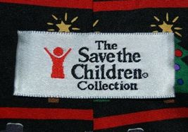 Save The Children Collection Christmas Cheer Necktie Snowman Tree image 3