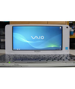 Sony Vaio VGN P72K Lifestyle UMPC Intel Z520 1.33GHz 64GB SDD 2GB RAM SI... - $371.25