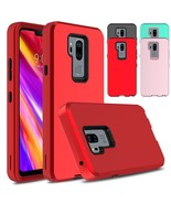 For LG G7+ / G7 ThinQ Phone Case Rubber Hybrid Shockproof Armor Rugged C... - $11.99