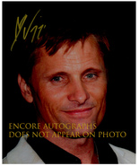 VIGGO MORTENSEN  Authentic Original  SIGNED AUTOGRAPHED 8X10 w/ COA 335 - $65.00