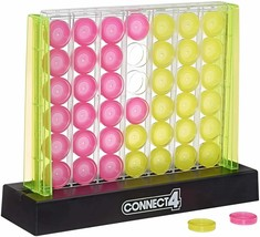 Hasbro Connect 4 Neon Pop Board Game Strategy Game - $44.54