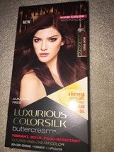 Revlon Luxurious Colorsilk Buttercream Vivid Bright Bronze 45RG AMMONIA FREE - $7.83