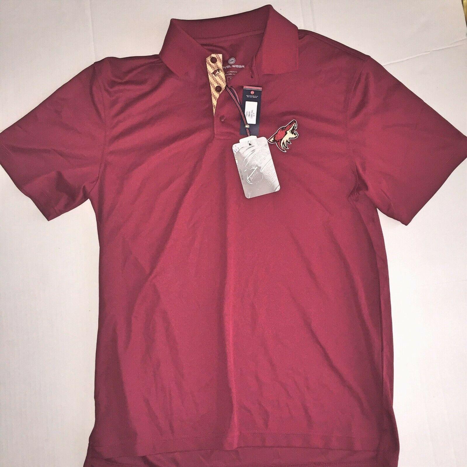 Mens Small NHL Arizona Coyotes Polo Shirt S NEW - $29.99