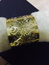 100pieces Laser cut Metallic Paper Gold Wedding Table Decoration Napkin Ring - $34.00