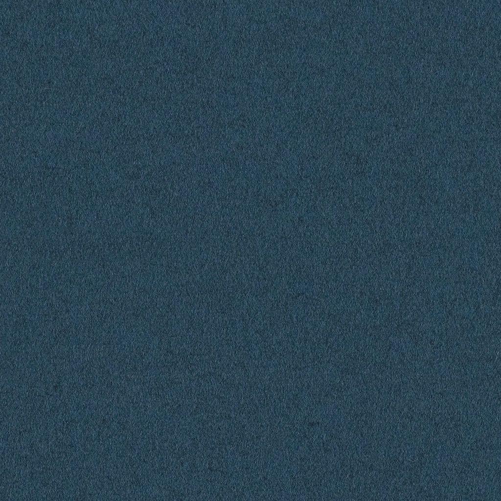 MCM Upholstery Fabric Heather Felt Wool Indian Ocean Blue 1.625 yds 4007-07 H
