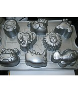 Nordic Ware Zoo Friends Cupcake Pan 8 Capacity - $24.04